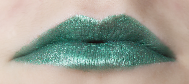 my beauty addiction lipstick swatch swatches emerald green