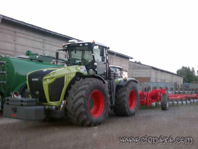 Tractors Farm Machinery Claas Xerion 4000