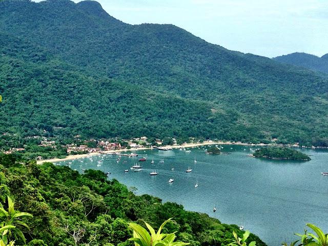 The stunning island of Ilha Grande, Brazil