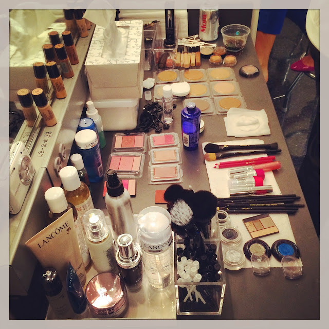 Backstage beauty kit  at Macy's Glamorama Fashion Rocks 2014