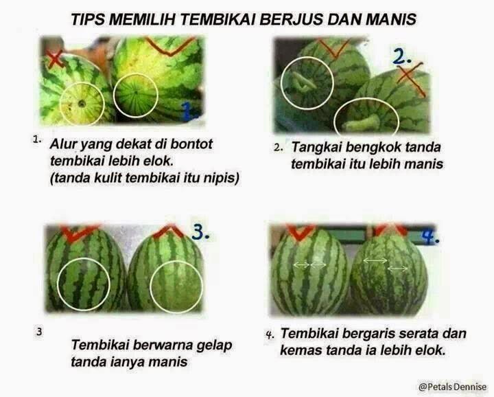 tips pemilihan buah tembikai