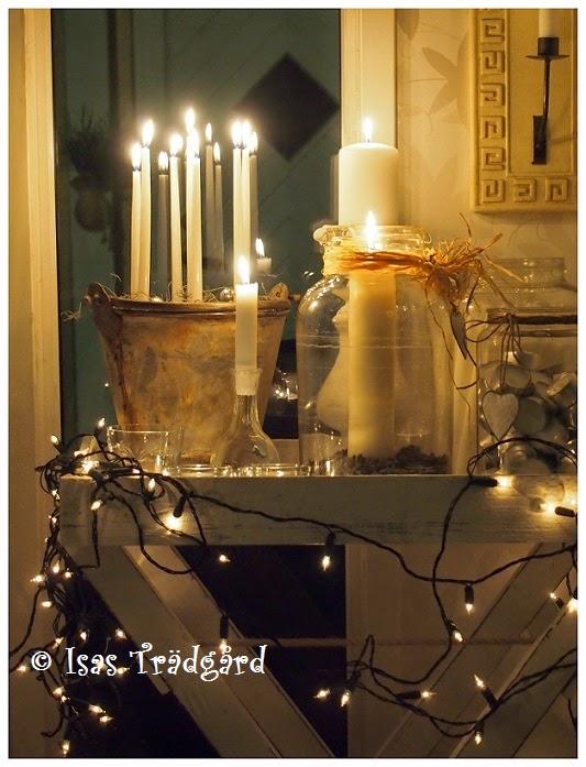 Ljusbord i köket