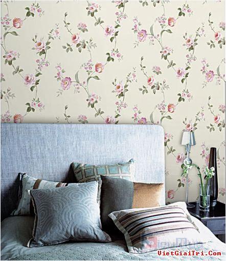 Không gian đẹp nhờ giấy dán tường 17