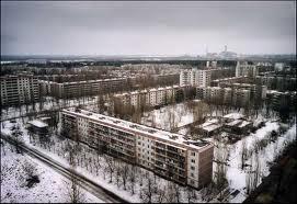 Prypiat – Ukraina (tempat tinggal para pekerja Chernobyl)