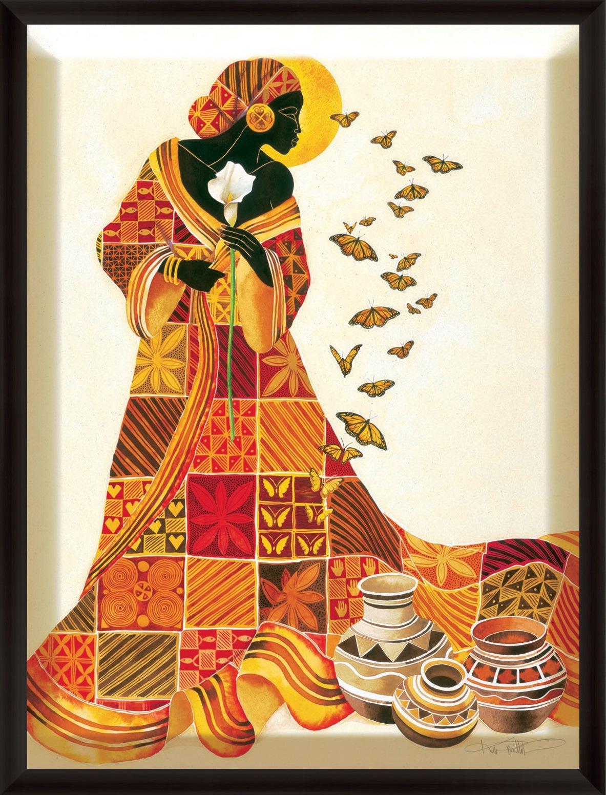 Pintura moderna y fotograf a art stica cuadros africanos - Decorarte pinturas ...