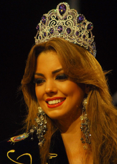 Miss Ecuador 2012 winner Carolina Aguirre Perez