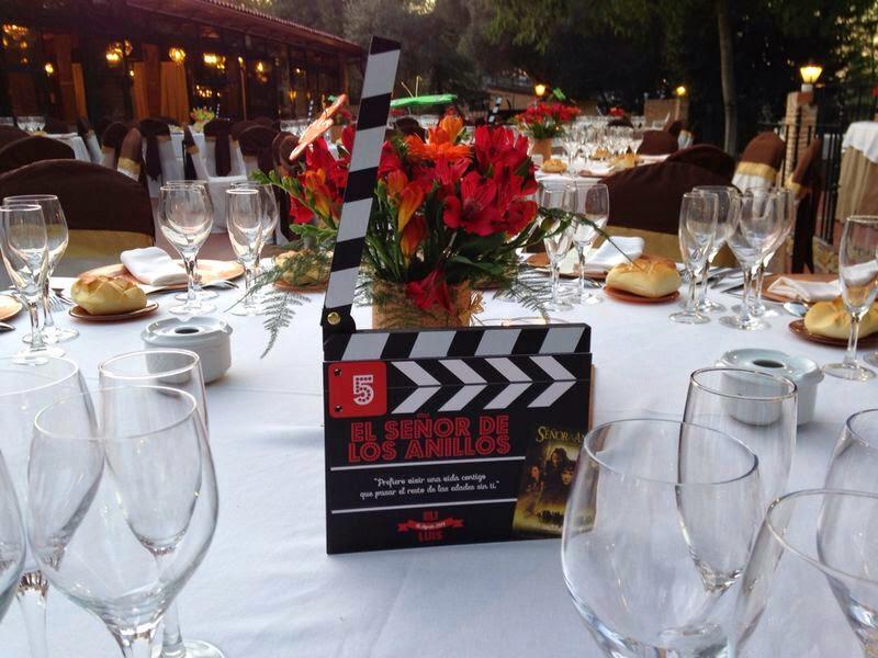 boda;mesero;boda temática cine
