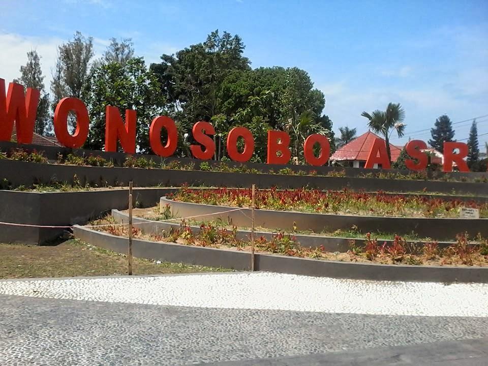 Wajah Baru Taman Kota Wonosobo