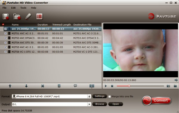Pavtube HD Video Converter 4.6.1