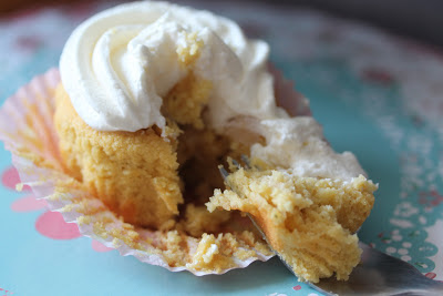 Gluten free apple and almond cupcakes