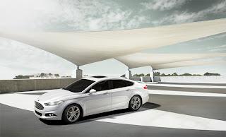 Ford usagé, montréal québec: fusion 2013 en blanc, automne 2012