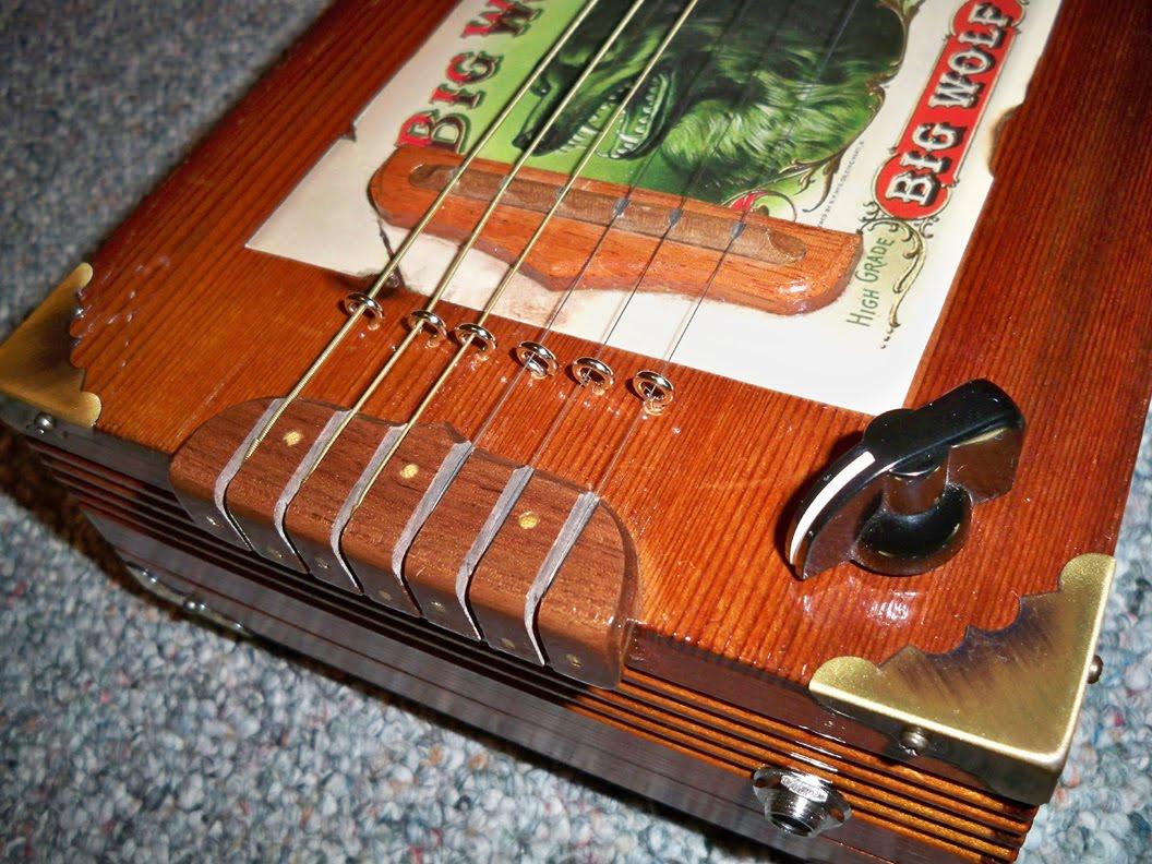 how to build a cigar box guitar book
