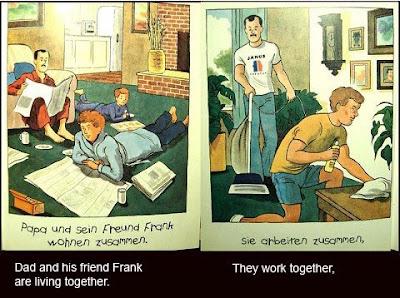 la pareja gay de papá