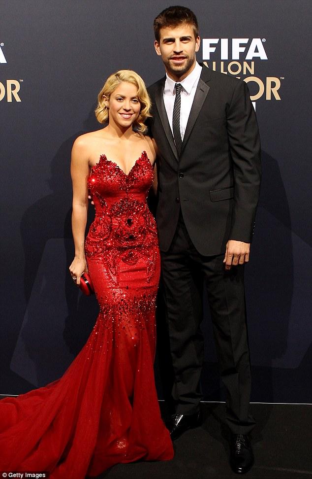 Shakira Shakira With Her Husband