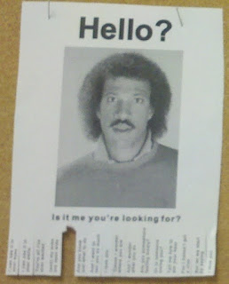 Hello Is It Me You're Looking for Poster