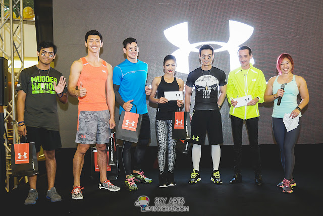 Under Armour Athletes got 1st Runner Up @ Under Armour Earn Your Armour Campaign