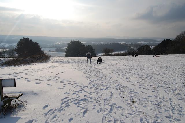 Snow at newlands corner