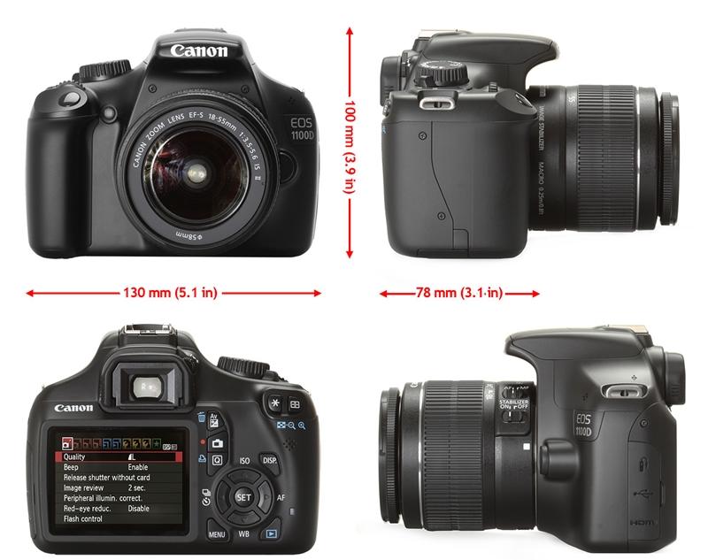 Kamera DSLR Canon EOS 1100DC
