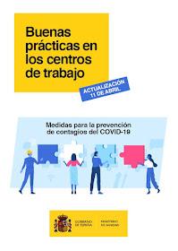 Buenas prácticas en los centros de trabajo