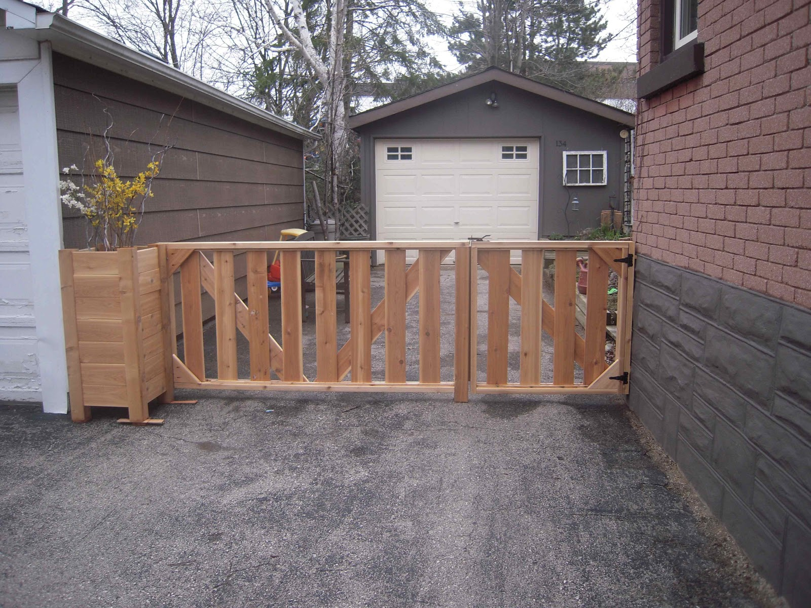 Diy Driveway Gate Fence Refencedesign Us