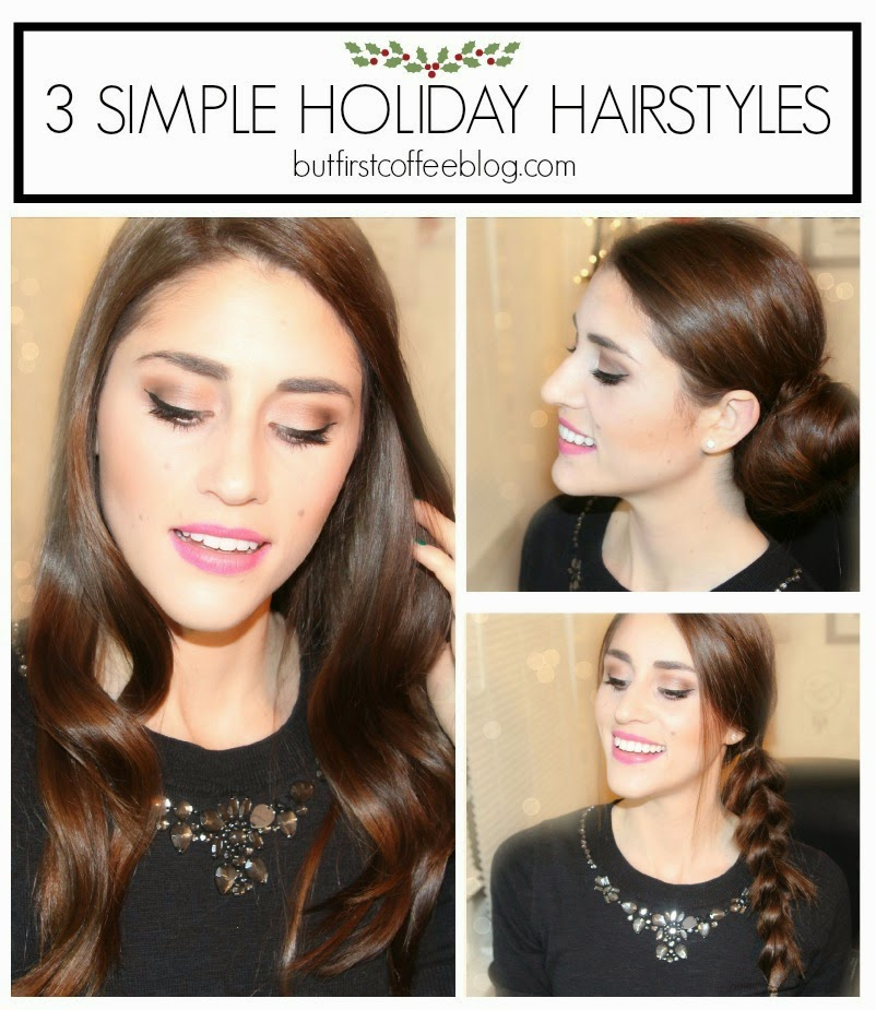 Simple Holiday Hair