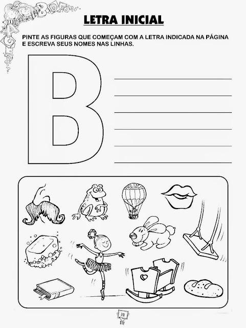 Atividades de português 1 ano alfabeto