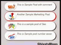Widget Popular Post  Super Keren Gratis Untuk Blogger