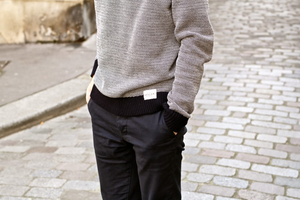 HOALEN-pull-Acne-Studios-Manteau-laine-Chino-marine_Richelieu-clou_Martin-Margiela-édition-limite_Pullin-chaussettes-pois-étole-aztèque_BLOG-MODE-HOMME-Mensfashion-Style-Preppy-Paris-Dandy2