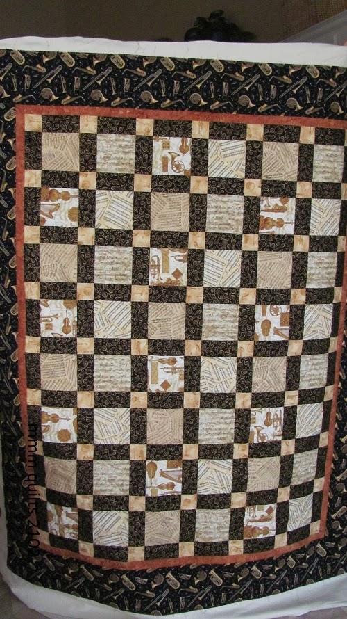 Ann s Music Quilt aka Tessellations part 3
