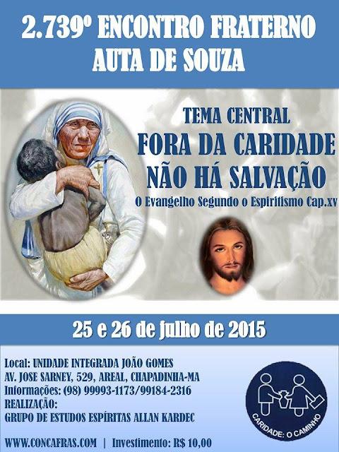 II Encontro Fraterno Auta de Souza Chapadinha-MA