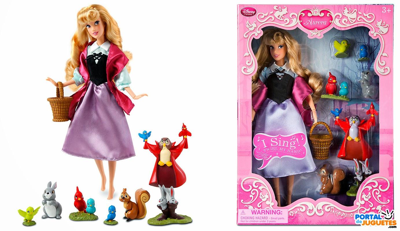 muñeca cantarina aurora deluxe singing doll