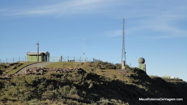Área militar no Morro da Igreja - Urubici / SC