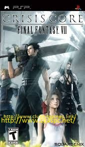 Free Download Games Crisis Core Final Fantasy VII PPSSPP ISO Full Version ZGASPC