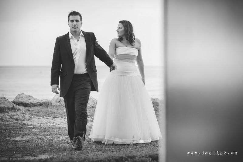 traje de novio y vestido de novia de Pepe Botella