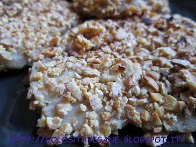 fiocchi soia, panatura, ricette vegan, Secondi, seitan, semi lino,