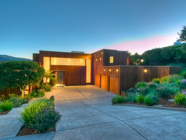 World of architecture amazing home for sale near san for Homes in mill valley ca