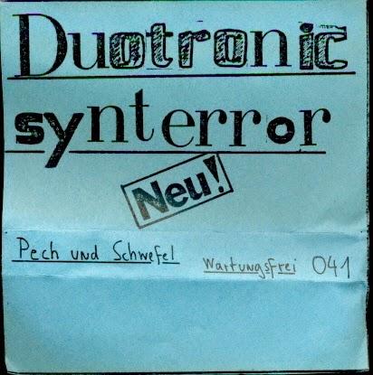 Duotronic Synterror Pech Und Schwefel