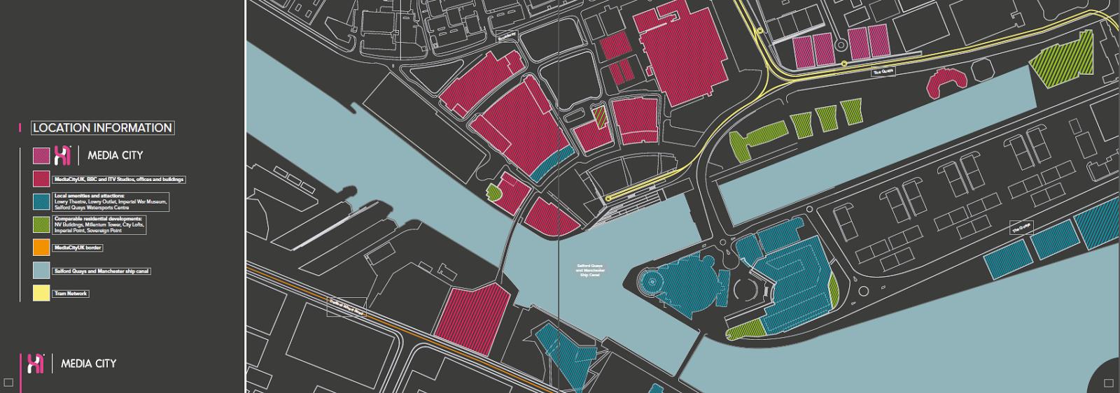 曼徹斯特精品住宅公寓地圖