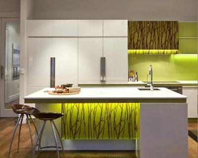 desain tata pencahayaan dapur modern rumah idaman kita