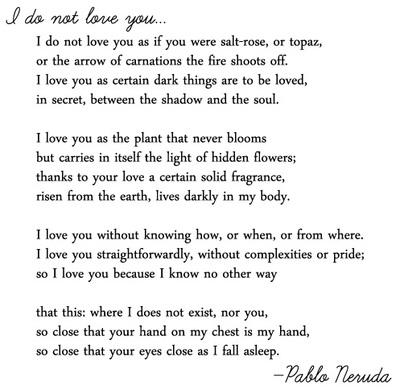 easy poem 20 lines pablo