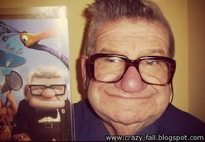 Mr. Carl Fredricksen is real look at this.