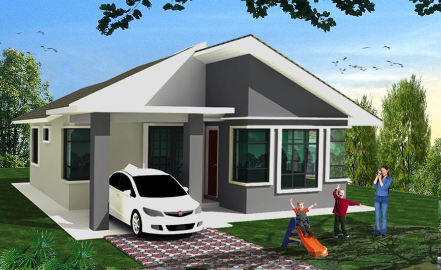 Rumah Banglo Terkini | Plan rumah banglo terkini | 2mapa.org