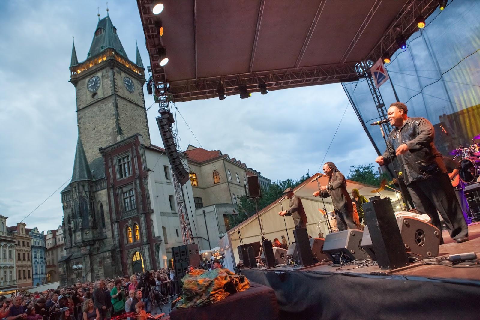 JBL VTX V20 Line Arrays Bohemia Jazz Fest