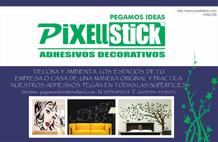 PiXELLSTiCK Adhesivos Decorativos