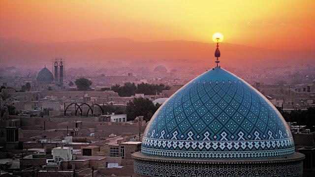 Jame Masjid Yazd in Iran