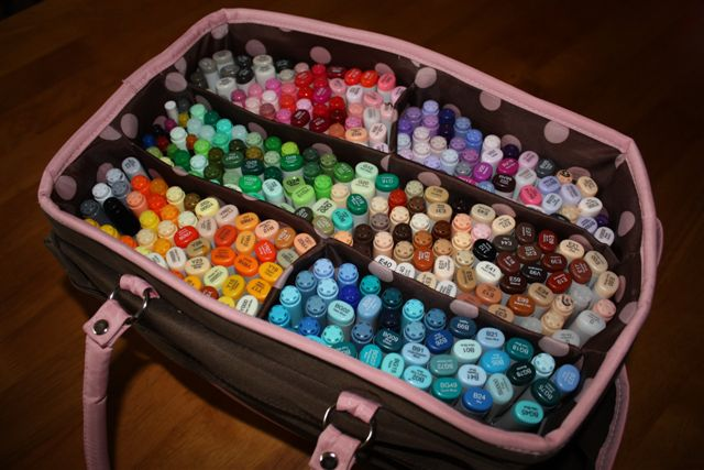 Kleirr\'s Kreation: How I Store My Tools 1 - Coloring Medium (Copics ...