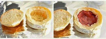 Roti Burger Berinti 3 Sekawan