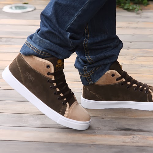 New korean style shoes for men fashion by nessy Korean fashion style shoes