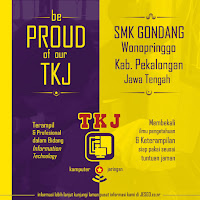 Poster TKJ Pekalongan - Be Proud of Our TKJ