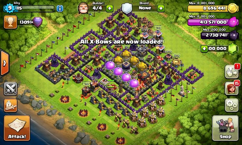 download fhx clash of clans v6 c apk   delolw